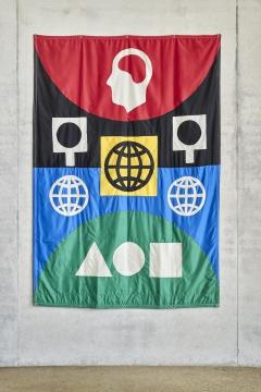 Skulpturenhalle | Matt Mullican: Banners